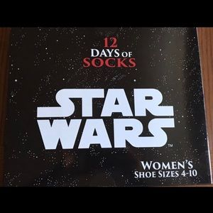 Star Wars Socks 12 Days